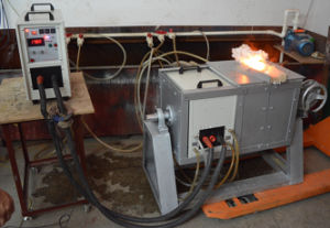 , Medium Frequency Melting Furnace (MF-25KW-10KG) pictures & photos