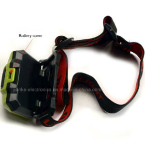Plastic Waterproof LED Small Headlamp with Logo Printed (4000) pictures & photos