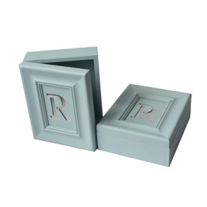 New Bule Letter Wooden Box for Gift pictures & photos