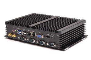 Fanless Intel Celeron Mini PC with Dual LAN Ports (JFTC1037UI) pictures & photos