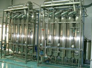 Tubular Multi-Efficiency Distilled Water Machine pictures & photos