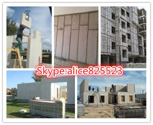 Calcium Silicate Faceplate Wall Panel/Polystyrene Granule Concrete Wallboard Making Machine pictures & photos