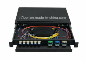 1u, 2u, 3u, 4u 19 Inch Fiber Optic Terminal Box pictures & photos