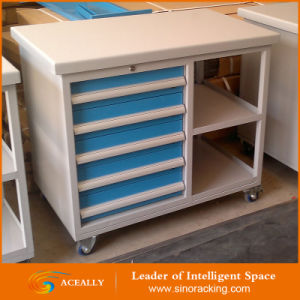 China Multi-Layer Drawers Heavy Duty Steel Rolling Tool Cabinet on ...