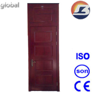 Light Red Walnut Wooden Door pictures & photos