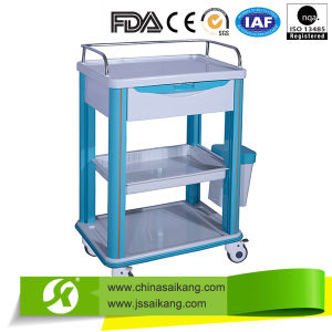 High Quality Hospital Anesthesia Clinical Trolley pictures & photos
