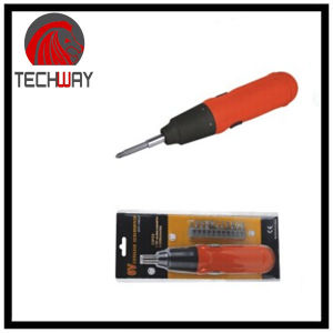 Cordless Screwdriver with 12PCS Blister Cark Packing pictures & photos