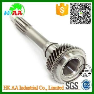 Ts16949 Approved CNC Machined Heavy Duty Input Gear Shaft pictures & photos