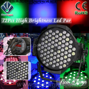 Factory Price 72PCS 3W LED PAR Can Stage Theatre Light pictures & photos