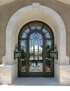 Commercial Exterior Steel Doors with Design Single Door (UID-S045) pictures & photos