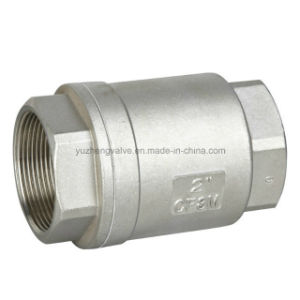 BSPT Thread Vertical Check Valve pictures & photos