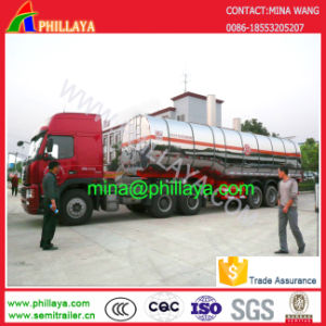 45000liters Aluminum Stainless Steel Tanker Fuel Tank Truck Semi-Trailer pictures & photos