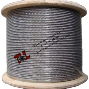 304 Stainless Steel Wire Rope 7X19 8mm pictures & photos