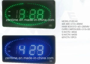 LED Display Second Rolling Mobility Controlled Alarm Wall Clock pictures & photos