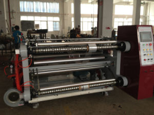 PLC Horizontal Paper and Film Slitting Machine pictures & photos