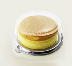 Clear Plastic Round box for cheese cake (PP box) pictures & photos