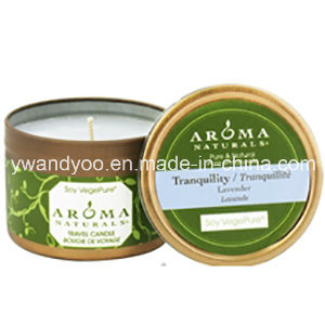 Eco-Friendly Scented Tin Candle for Decoration
