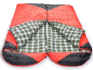 Wholesale Hooded Envelope Sleeping Adult Sleeping Bag pictures & photos