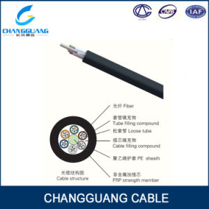 Competitive Price 12 24 48 96 Core Fiber Cable GYFTY Fibre Cable