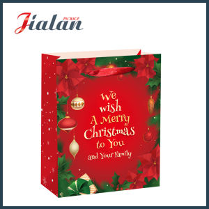 Merry Christmas & Happy New Year Fashion Carrier Gift Paper Bag pictures & photos