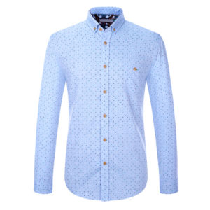 China Long Sleeve Hot Sale Cotton Man Collar Dress Shirt