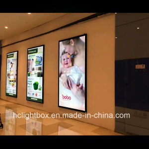 Aluminum Profile LED Snap Frame Ultra Thin Light Box LED Light Frame pictures & photos