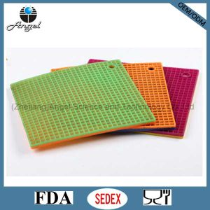 Heat Resistant Silicone Rubber Mat Tablemat Sm03 pictures & photos