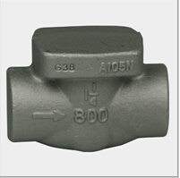 Forged Steel Valve Body of Gate (DTV-P011)