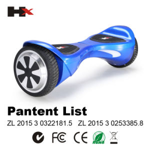 6.5inch Balance Wheel 2 Wheels Electronic Scooter Un38.3, UL1642, UL60950-1 pictures & photos