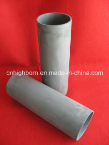 Refractory Reaction Sintered Black Silicon Carbide Ceramic Pipe pictures & photos