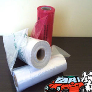 Plastic Disposable Flat Bag on Roll