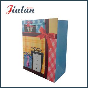 Factory Price Customize Logo Cheap Wholesales Man Paper Shopping Bag pictures & photos