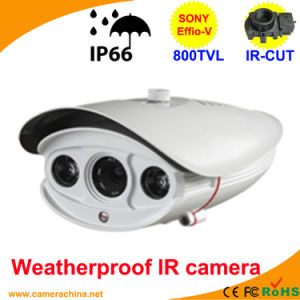 60m LED Array Sony Effio-V 800tvl Color IR CCD Camera pictures & photos