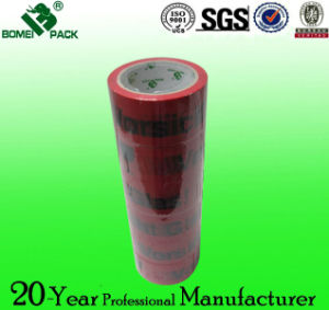 Good Quality BOPP Packing Tape Custom Printed Logo pictures & photos