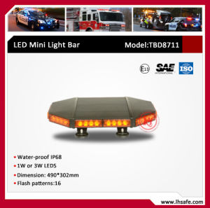 0.5m LED Mini Warning Light Bar (TBD8711W-0.5m) pictures & photos