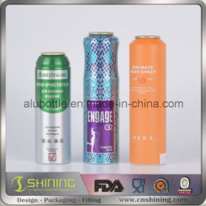 Aluminum Aerosol Spray Can for Cosmetic pictures & photos
