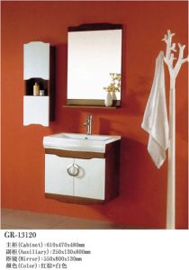Solid Wooden Furniture Bath Cabinet (13120) pictures & photos