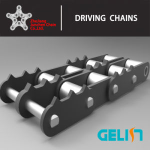 OEM Tooth Chain Lumber Conveyor Chain Sharp Top Chain pictures & photos