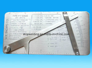 Pipe Pit Welding Gauge pictures & photos