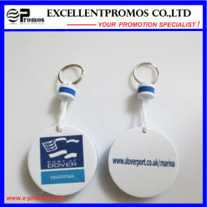 Hot Selling Promotion PU Floater Keychain (EP-K573012) pictures & photos