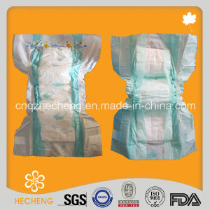 Wholesale Cotton Disposable Sleepy Baby Adult Diaper pictures & photos