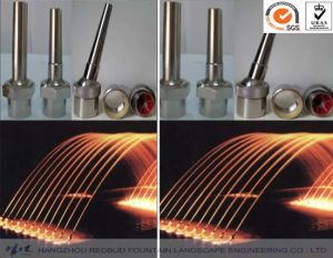 Straight Jetting Fountain Nozzle in Stainless Steel pictures & photos