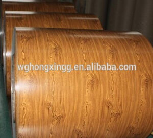 Wooden Pattern Pre-Painted Galvanized Steel Coil pictures & photos