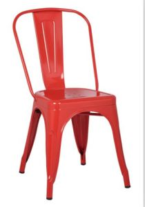 Factory Price Stackable Vintage Marais Iron Metal Restaurant Chair for Dining pictures & photos