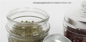 Hot Sell Glass Storage Jar Glass Container with Lid Kithenware Glassware pictures & photos