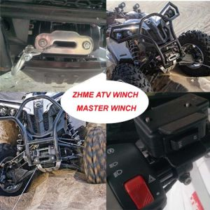 2500lbs Auto Electric Winch with Synthetic Rope pictures & photos