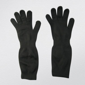 Steel Wire Double Layer Anit-Cut Glove for Sugar Industry-2358 pictures & photos