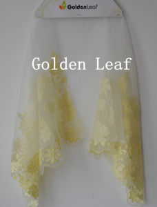 Laser Embroidry/3D Embroidery/Satin Fabric/Voile Lace Fabric Factory Directly Garments (JG018)