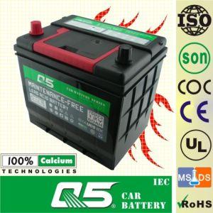 JIS-55D23 12V60AH Maintenance Free Car Battery Japanese car battery Mini generator battery small car battery batteries on sale car battery shop pictures & photos
