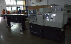 Swiss Type CNC Automatic Lathe Dual Spindles pictures & photos